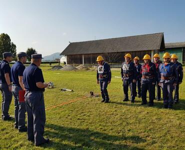 Tekmovanje starejših gasilcev v Študi
